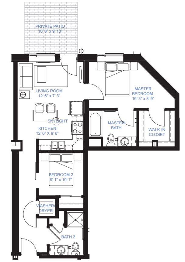 Two Bedroom Apartment Minneapolis