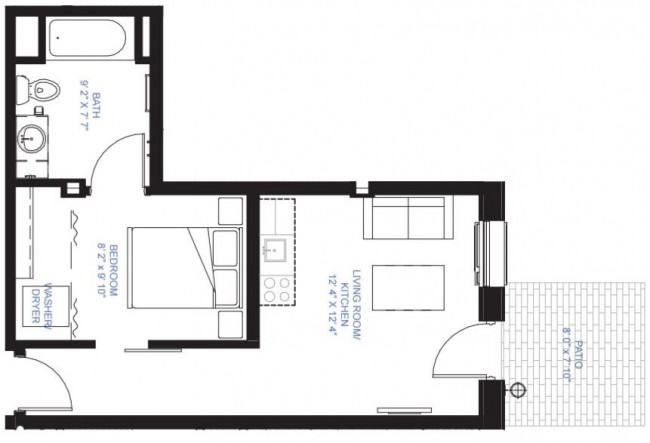 One Bedroom A-12