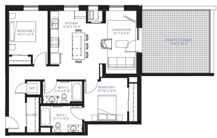 Two Bedroom B-9